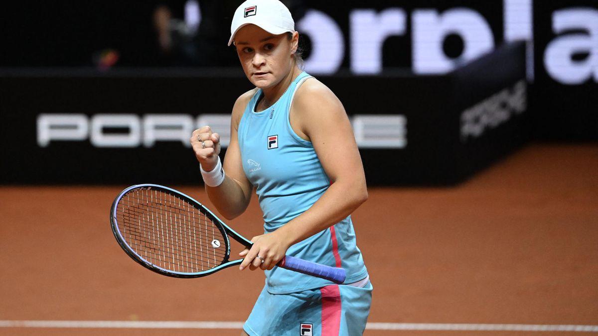 Ashleigh Barty steht in Stuttgart im Finale