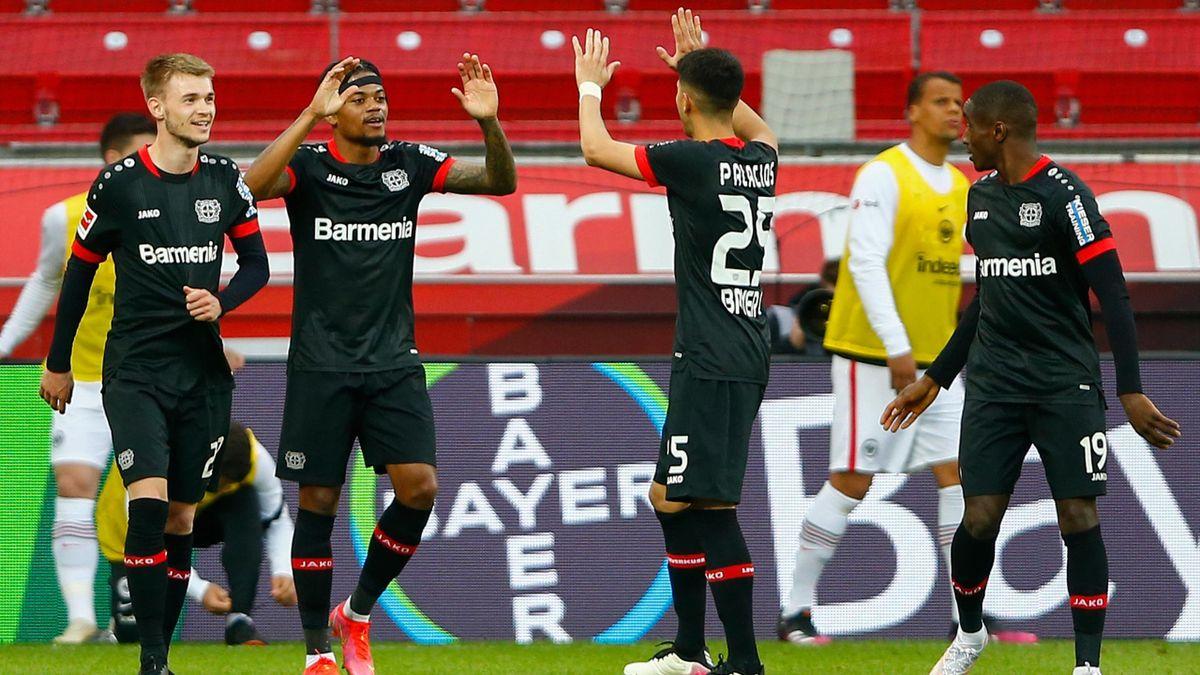 Bayer Leverkusen schlägt Frankfurt mit 3:1