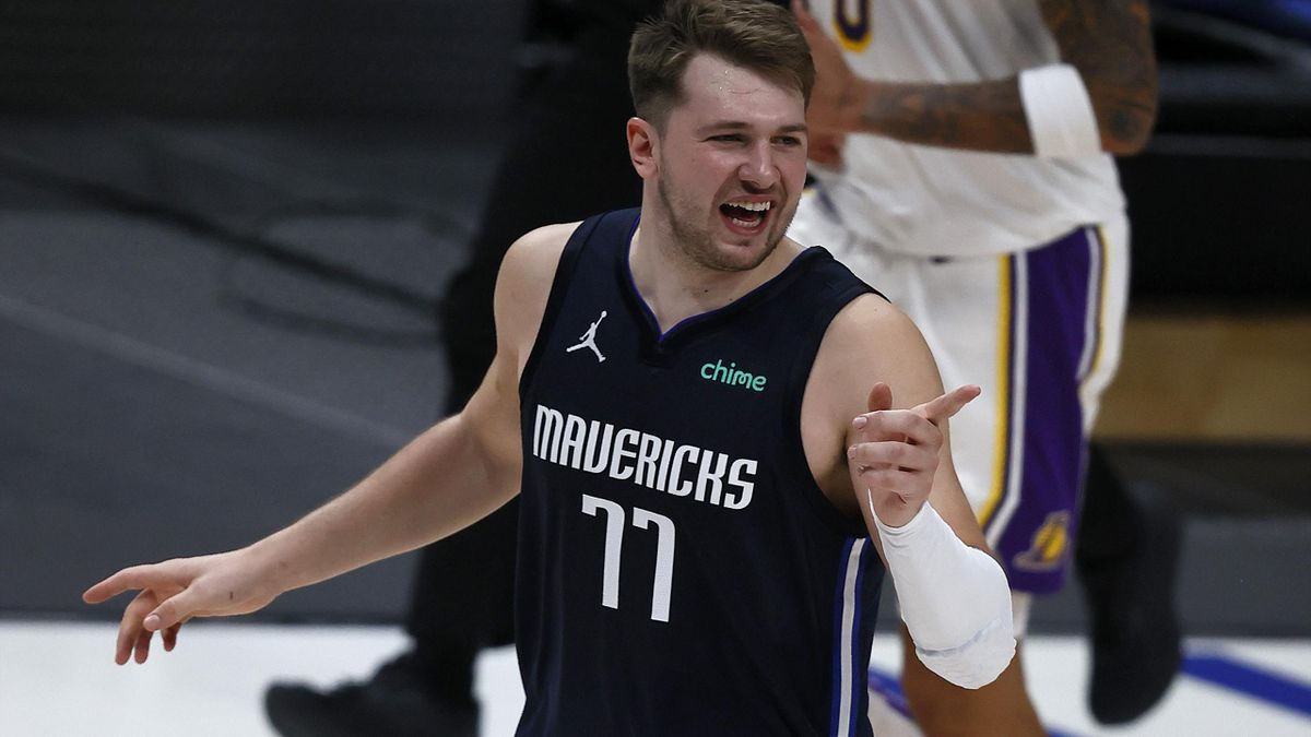 Luka Doncic, ante los Lakers