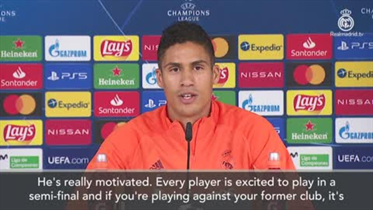 'He's really motivated' – Hazard relishing Chelsea Champions League semi-final says Varane
