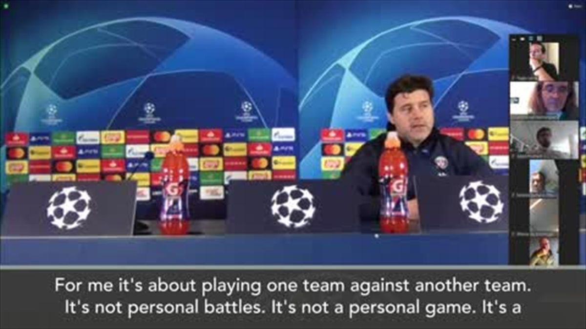'I admire Pep a lot' - Pochettino on Guardiola