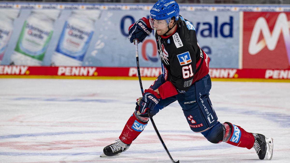 Torjäger Tommi Huhtala fehlt Mannheim in den Play-offs