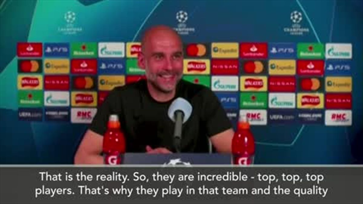 Guardiola - I slept well when not thinking about Neymar and Mbappe
