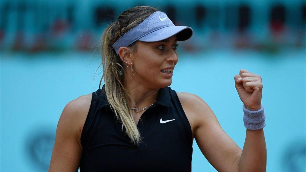 Paula Badosa en el WTA de Madrid