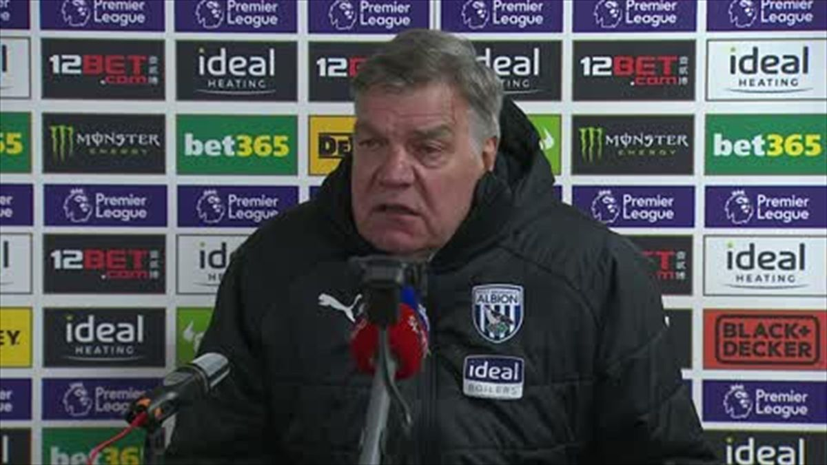 'An open discussion' - Allardyce on his future at WBA