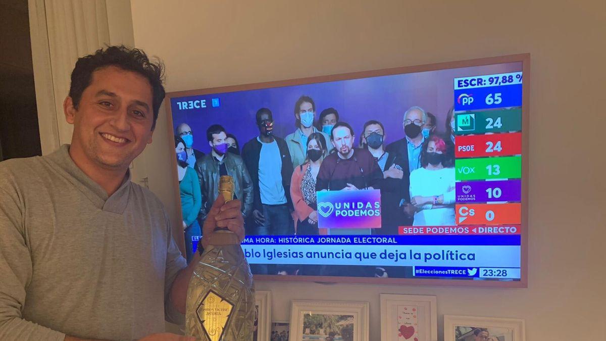Almagro celebra la victoria de Isabel Díaz Ayuso