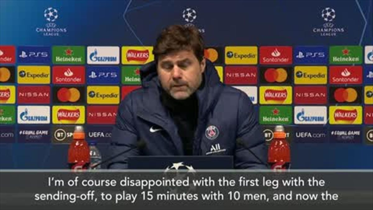 'Sad and disappointed' Pochettino after losing to Man City