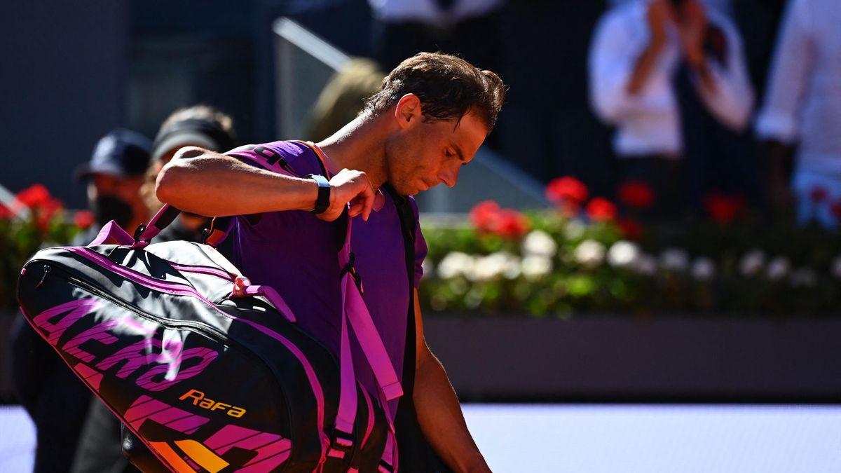 Rafael Nadal, eliminado en cuartos del Mutua Madrid Open