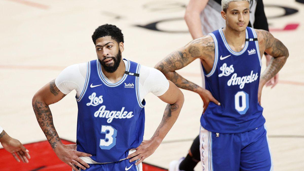 Die Lakers mit Anthony Davis (l.) verloren erneut