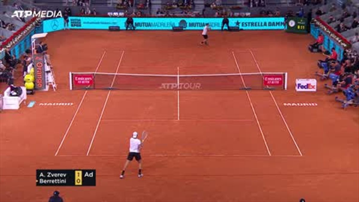 Highlights: Zverev beats Berrettini to win Madrid Masters