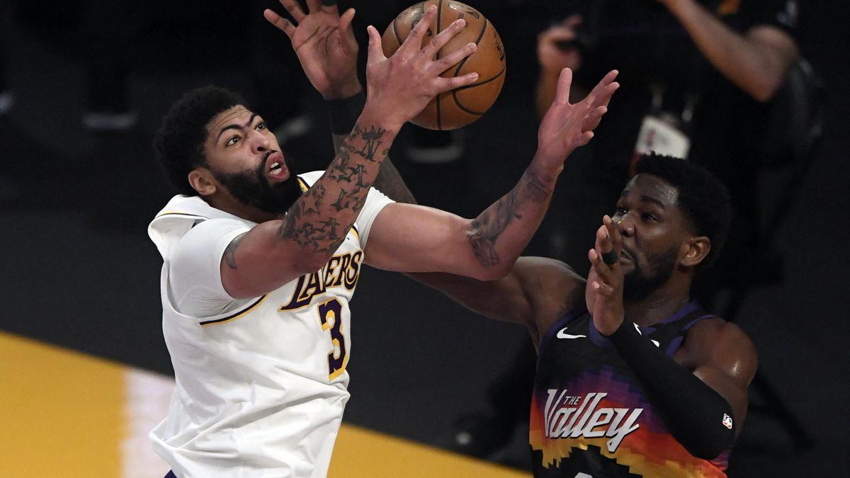 Anthony Davis führt die Lakers zum Sieg