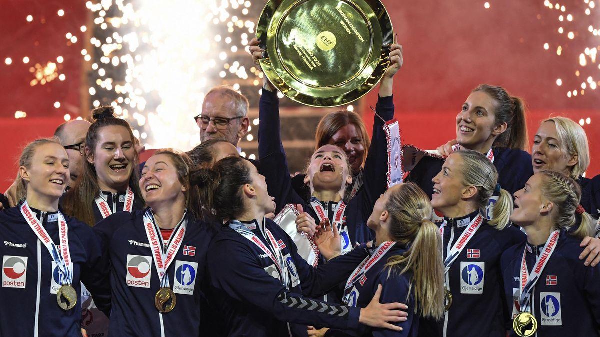 Norwegens Handballerinnen gewannen 2020 den EM-Titel