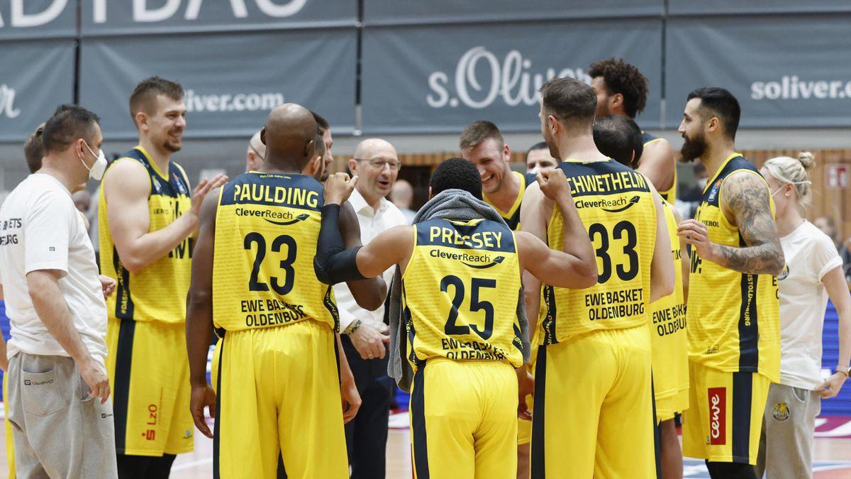 Mit dem Sieg sichert sich Oldenburg den dritten Platz