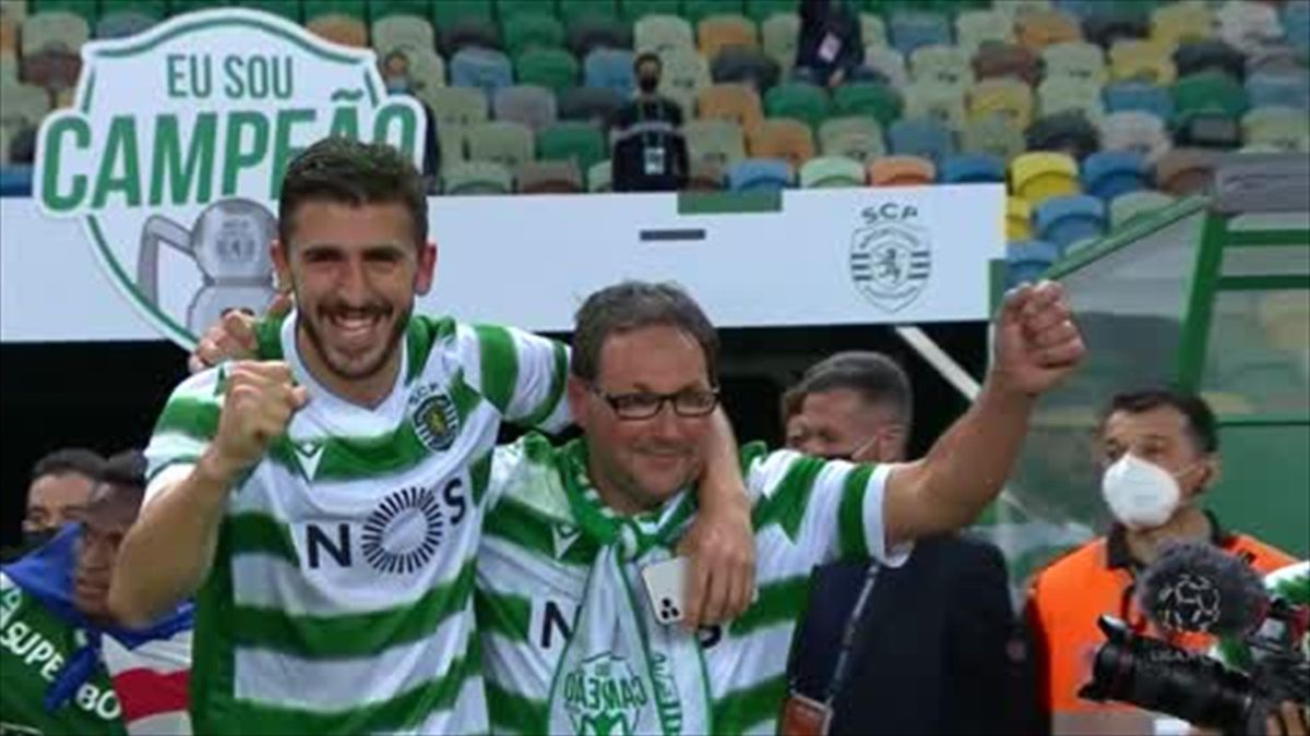 Sporting win Protuguese title for first time in 19 years