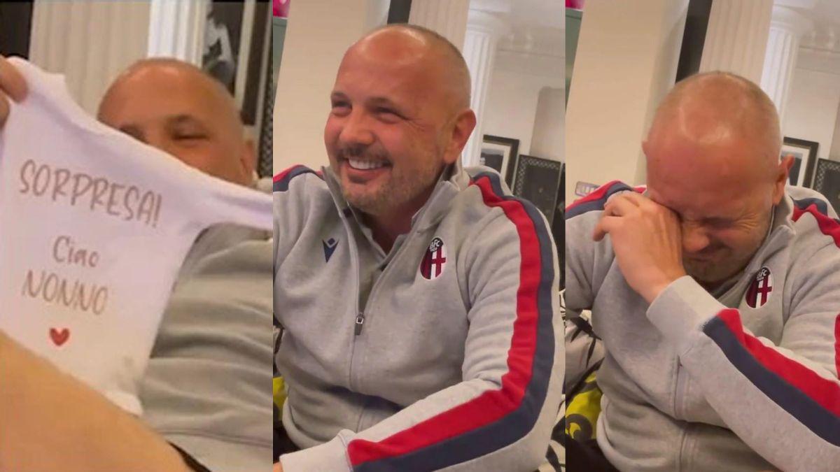 Mihajlovic, che tenerezza: scopre di diventare nonno e si commuove