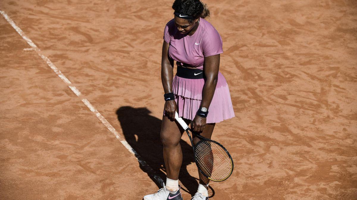 Serena Williams ist in Rom früh ausgeschieden