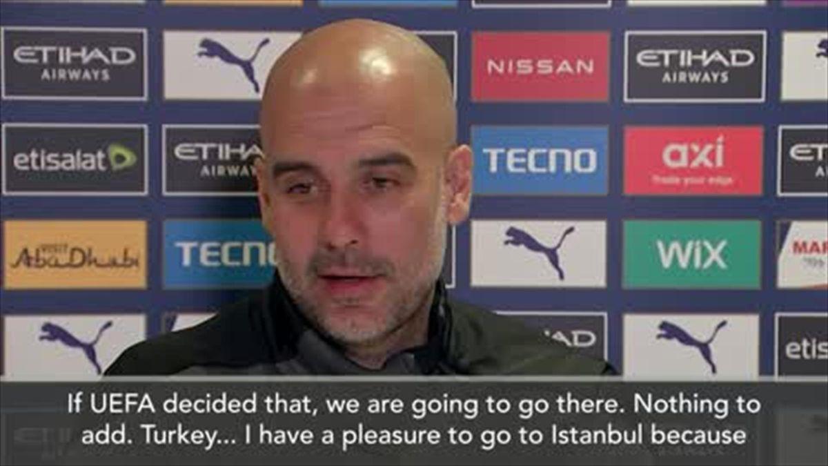 'No problem' - Guardiola on Champions League final move