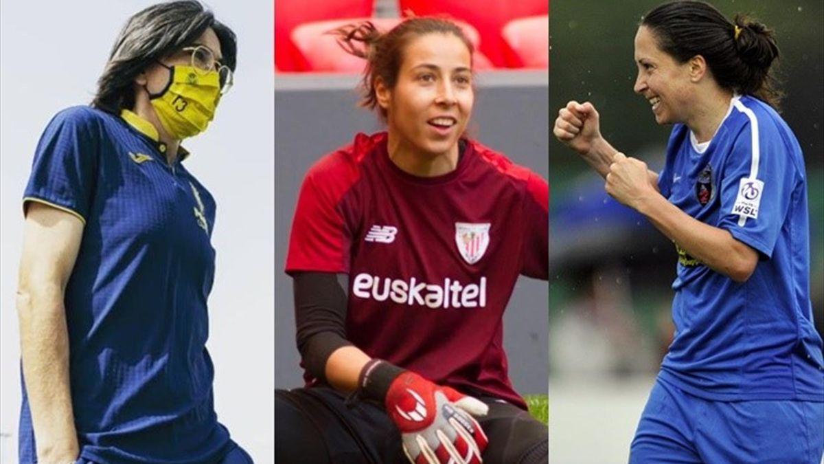 Sara Monforte, Ainhoa Tirapu y Laura del Río
