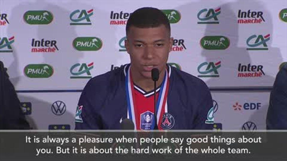 'No limits' - Mbappe eyes more success after Coupe de France win