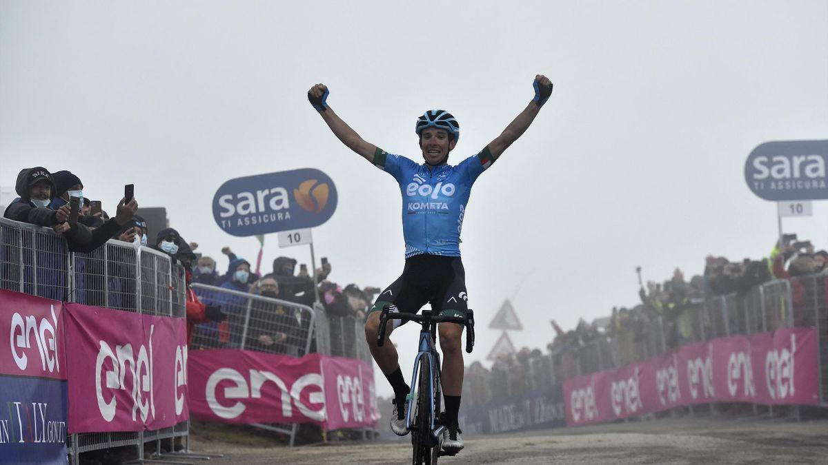 La gloire pour Fortunato, les déboires pour les rivaux de Bernal et Yates : arrivée de la 14e étape