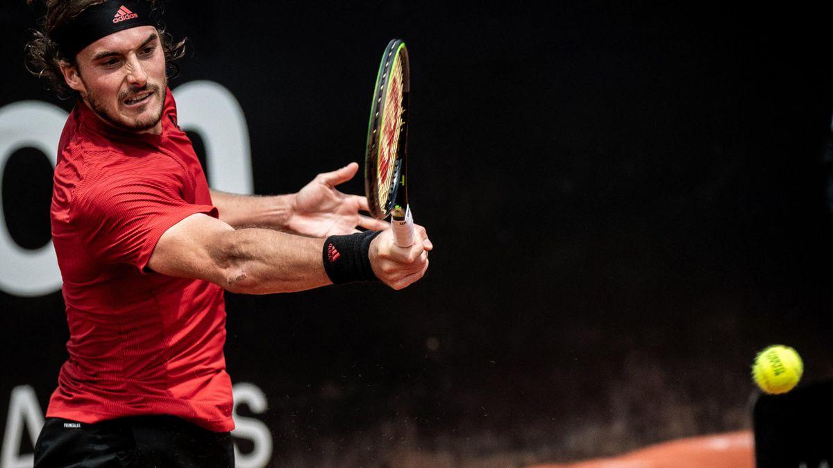 Stefanos Tsitsipas gewinnt in Lyon