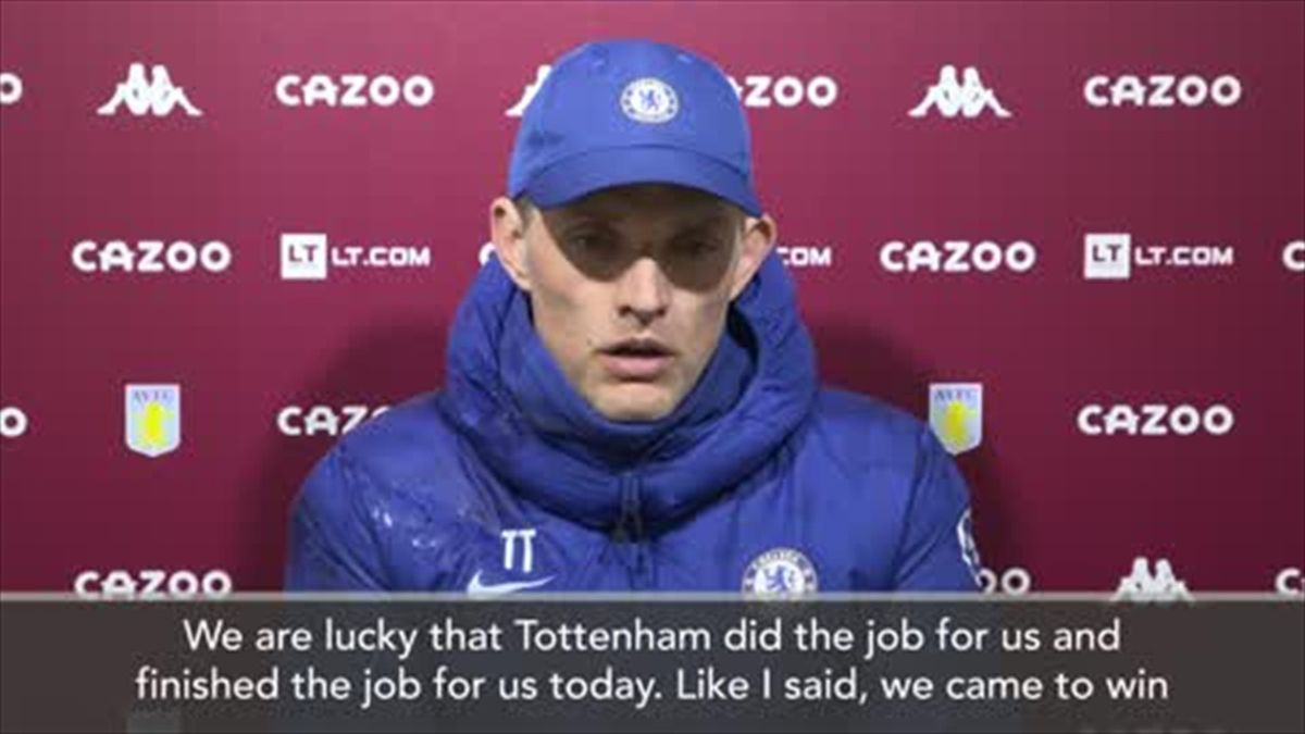 'We are lucky! - Tuchel on getting a favour from Spurs