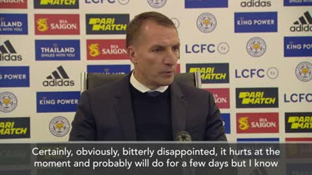 'It hurts' - Rodgers ' bitterly disappointed' at missing out on Champions League