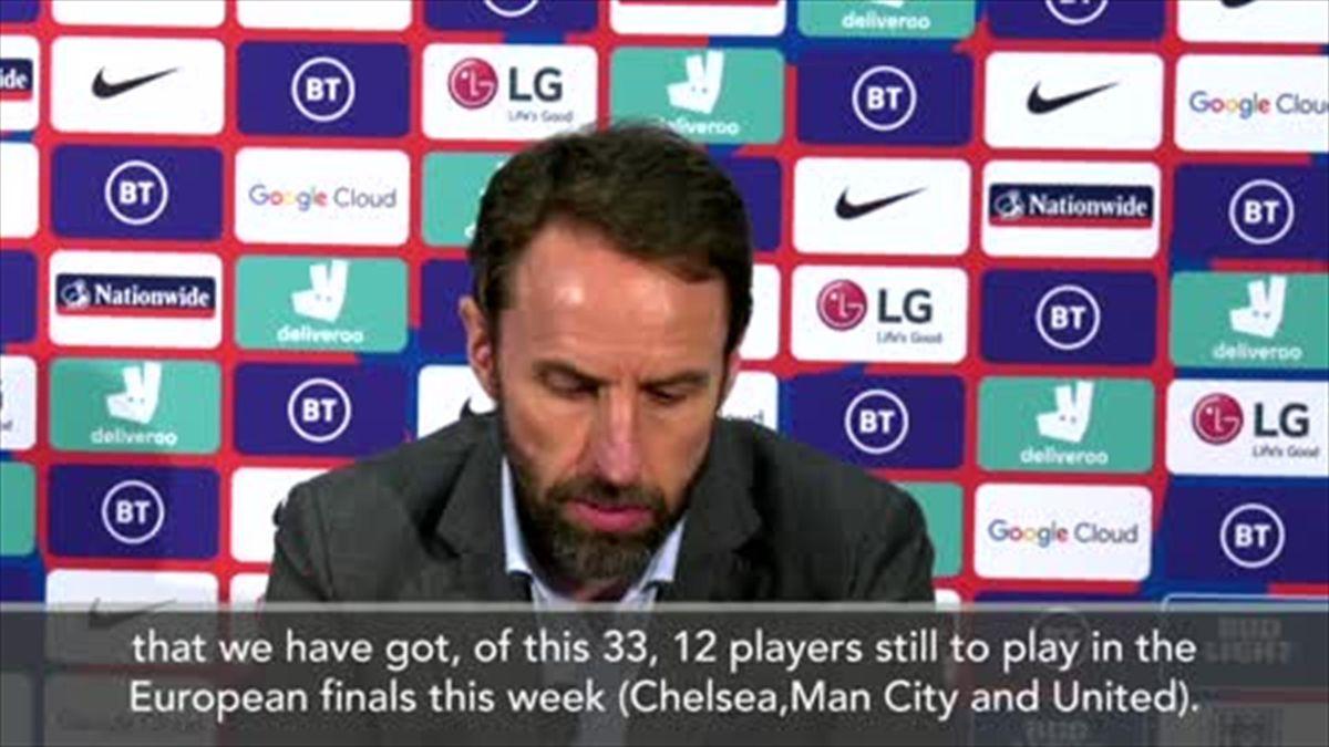 English club success complicates England preparation claims Southgate