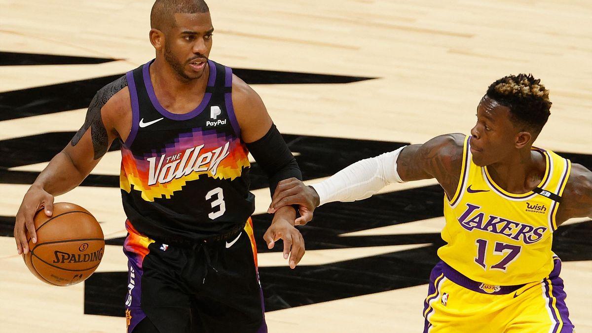 Dennis Schröder und die Lakers liegen gegen Phoenix vorne