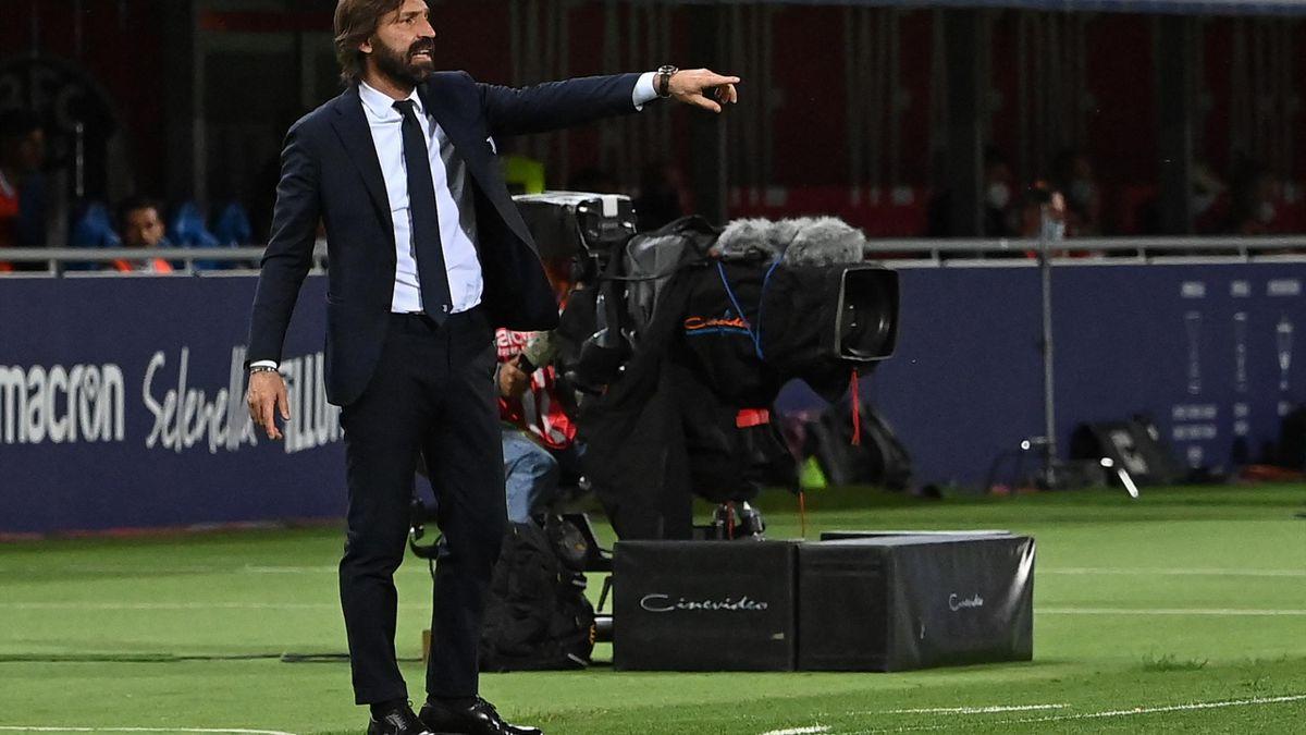 Andrea Pirlo ist nich länger Trainer bei Juventus Turin