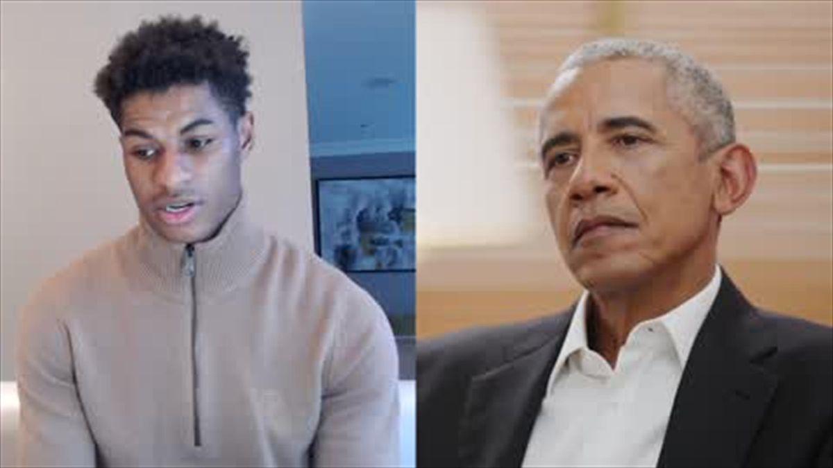 Obama praises Rashford for using sport as a platform