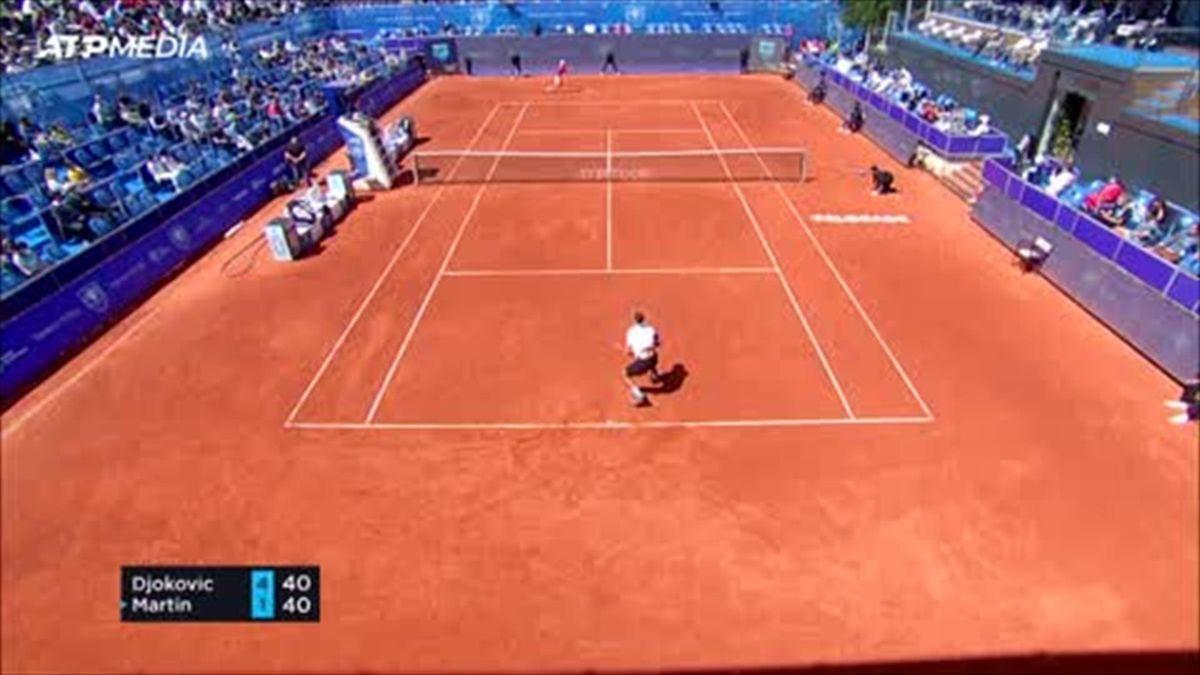 Djokovic fends off surprise challenge from qualifier Martin