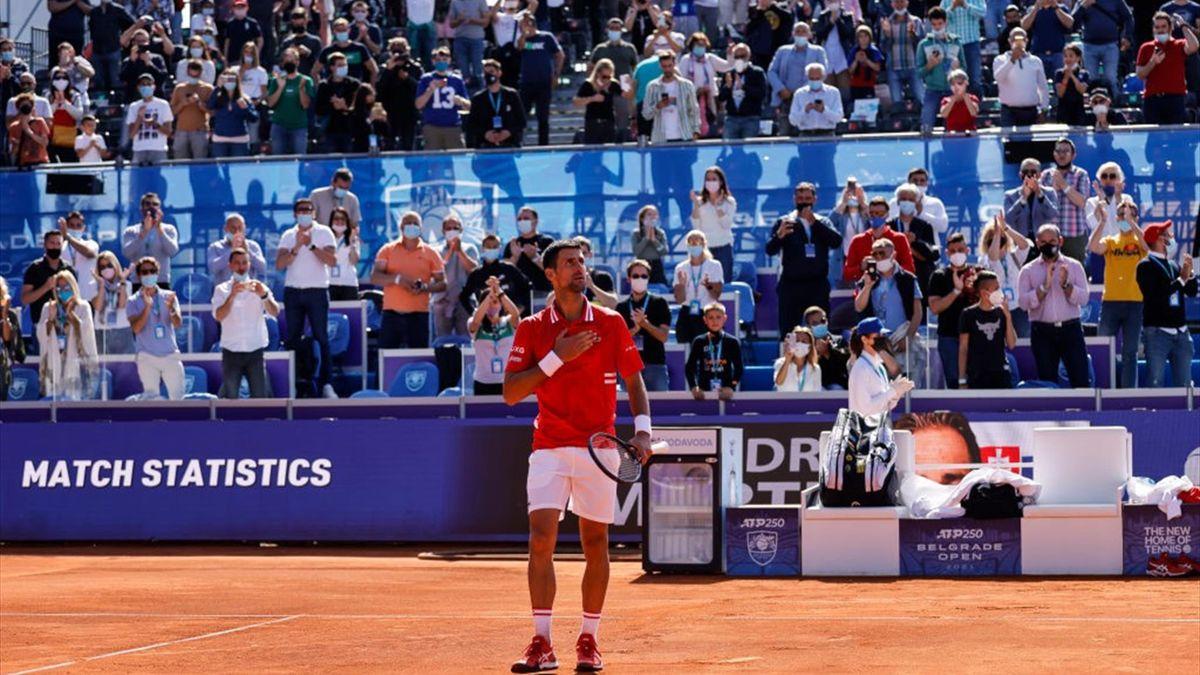 Djokovic gana el ATP de Belgrado