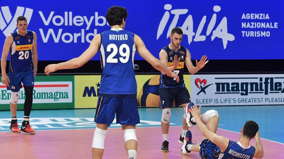 Volley, Nations League 2021: Italia-Slovenia 0-3,
