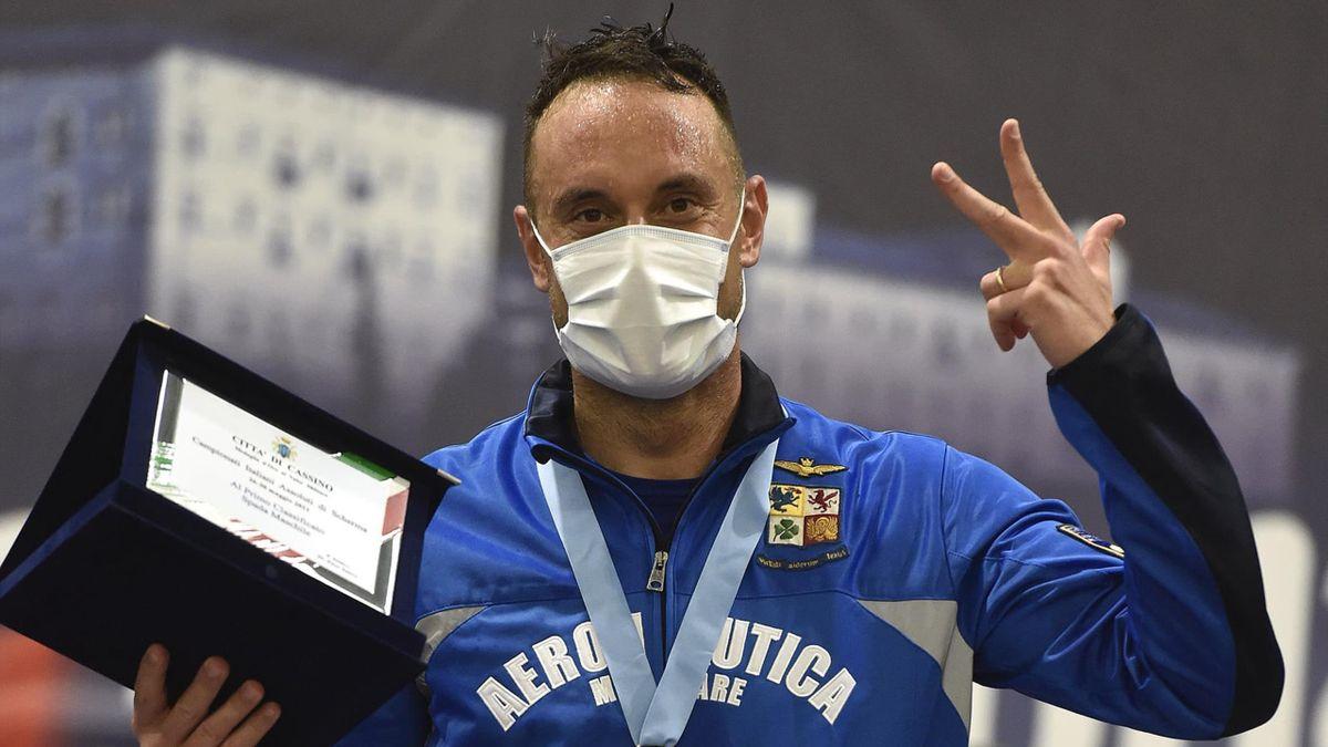 Scherma, Paolo Pizzo campione italiano di spada per la terza volta