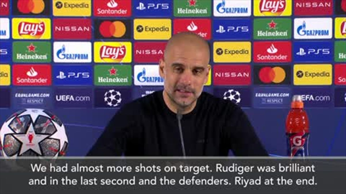 'City played a really good final' - Guardiola after defeat to Chelsea