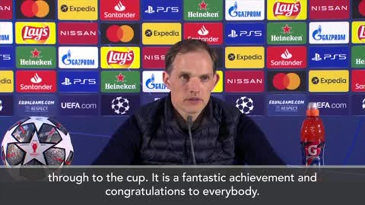 Tuchel 'almost speechless' after Chelsea beat City to win UCL title