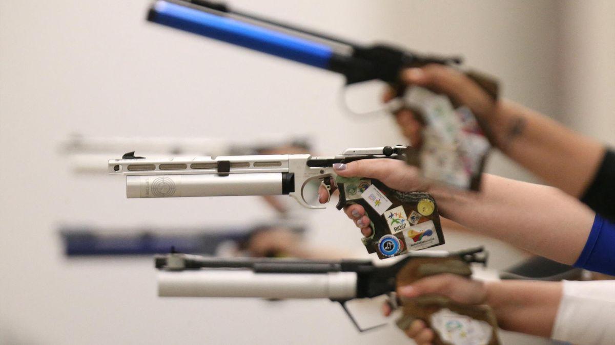 Carina Wimmer gewinnt EM-Gold mit der Luftpistole