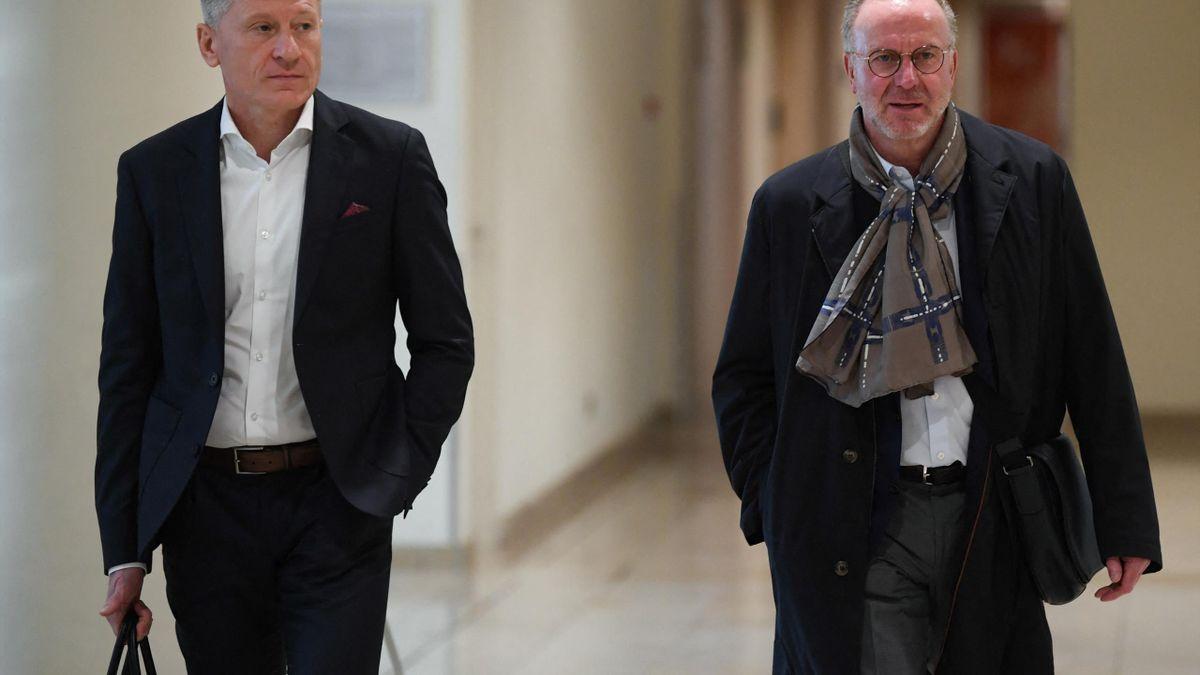 Die TSG Hoffenheim trennt sich von Peter Görlich (links)