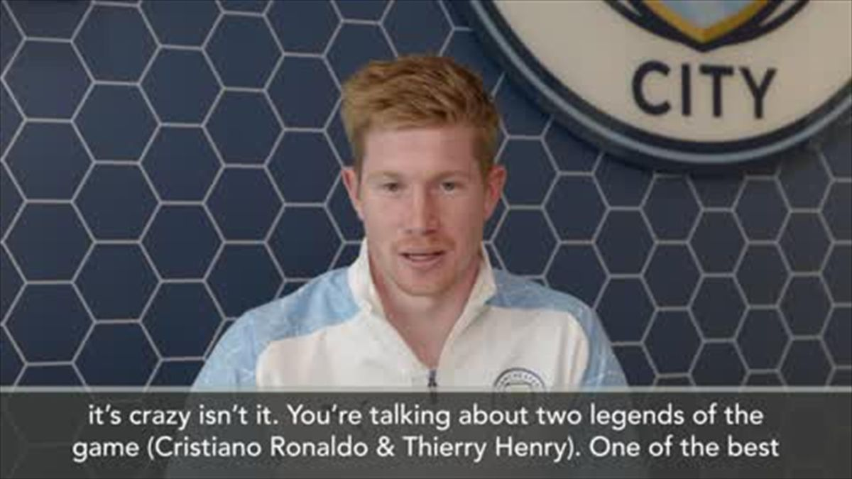 'It's crazy' - De Bruyne on matching Henry and Ronaldo as two-time PFA winner