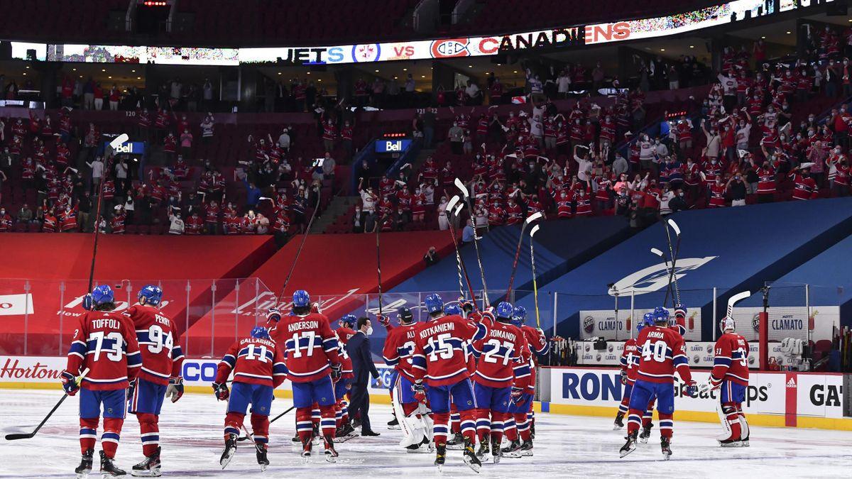 Canadiens feiern Sweep gegen die Jets