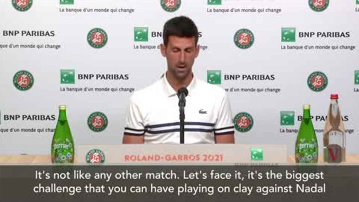 'Vibes are different with Rafa' - Djokovic on 'historic rivalry'