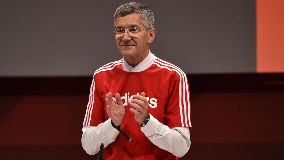 Präsident Herbert Hainer von Bayern München