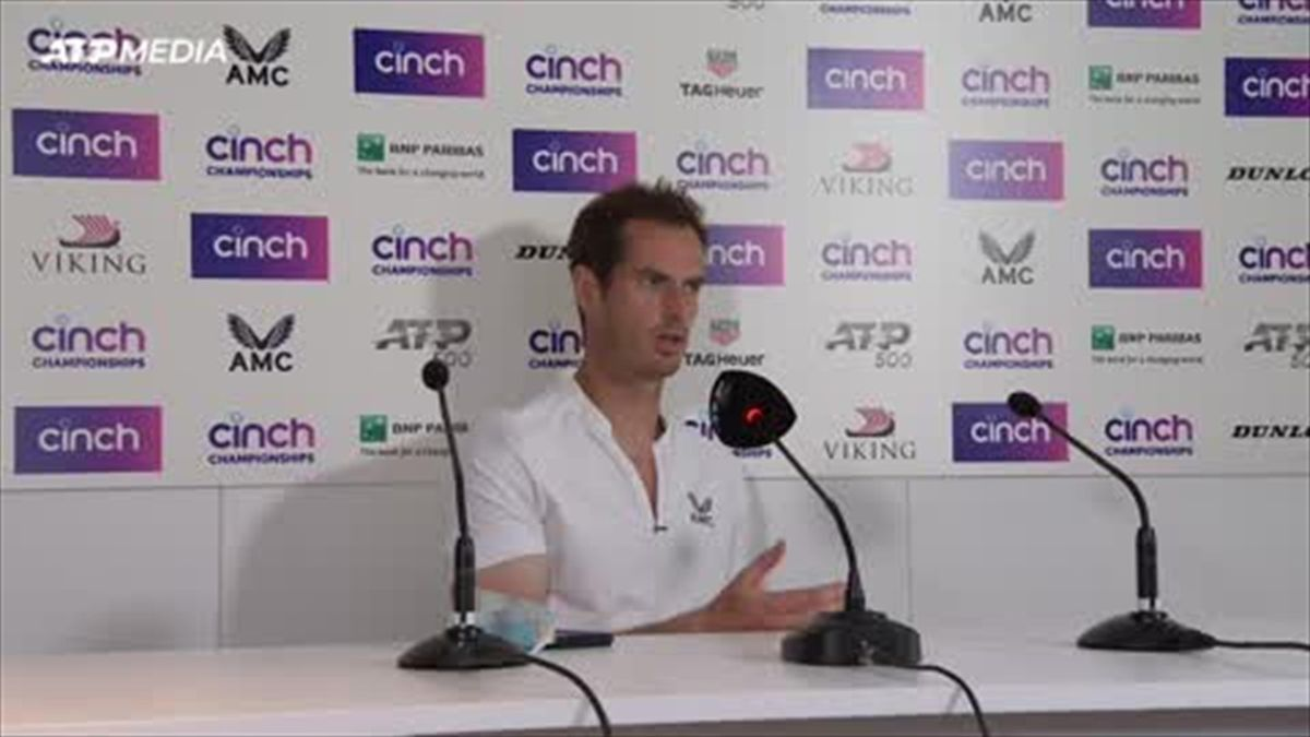 'Each match could be my last' - Murray after Paire win at Queen's