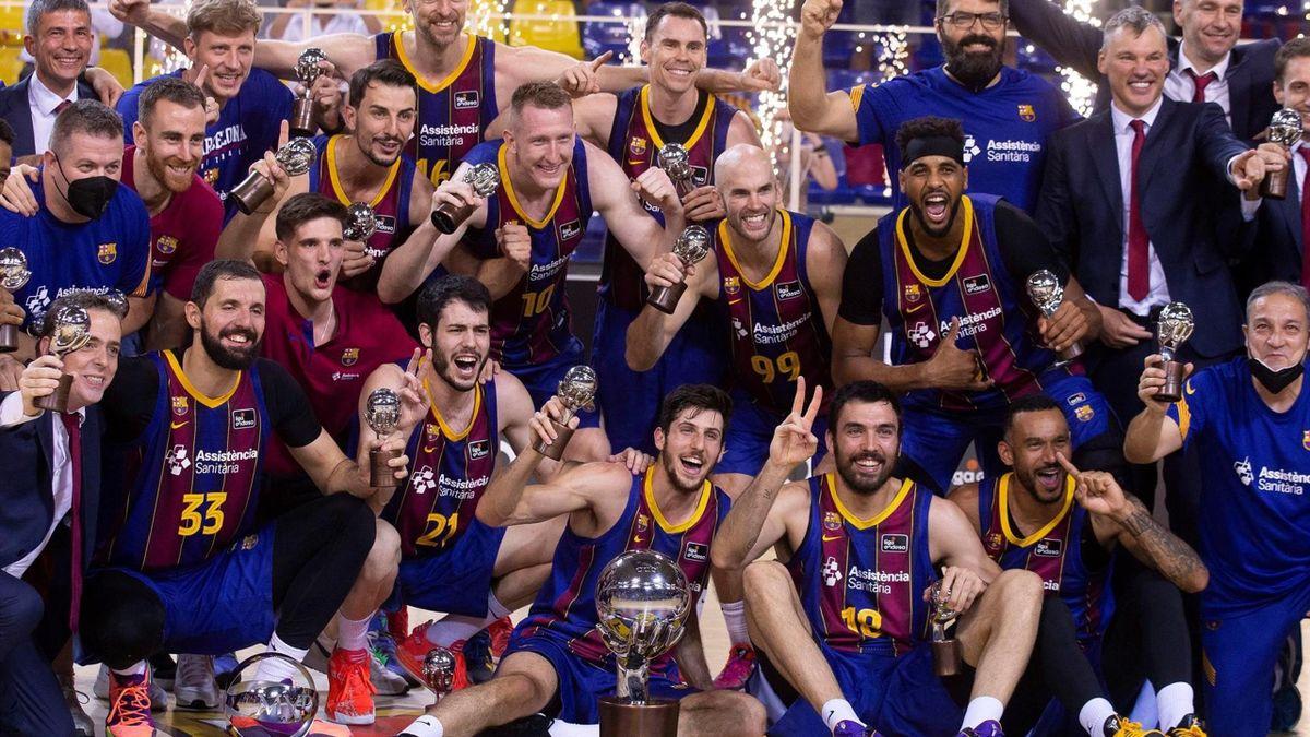 El Barça, campeón de la ACB siete años después