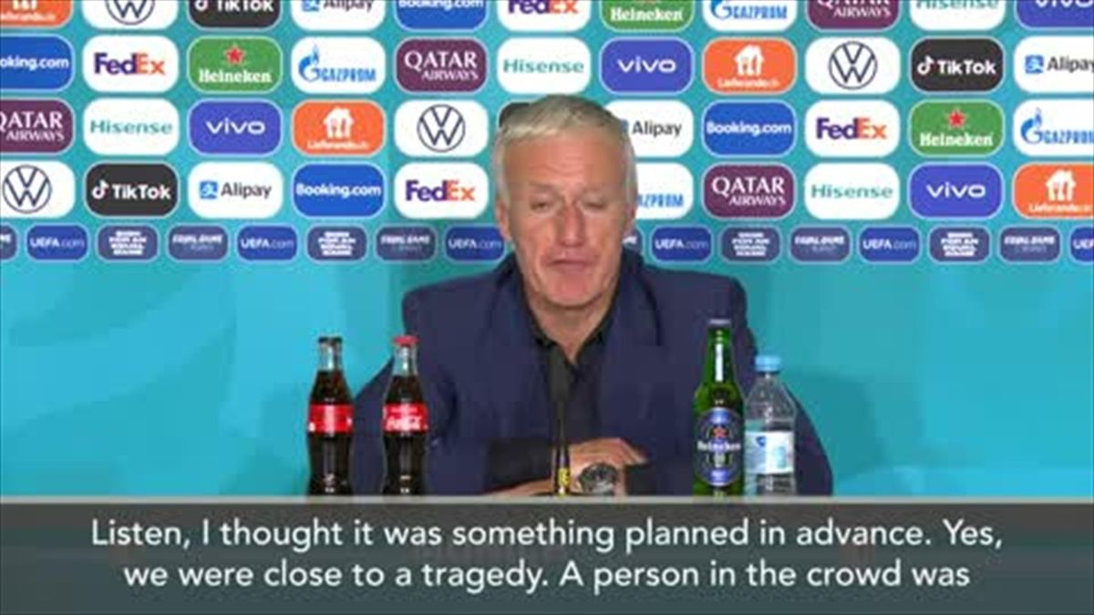 'We were close to a tragedy' - Didier Deschamps on the Greenpeace protest