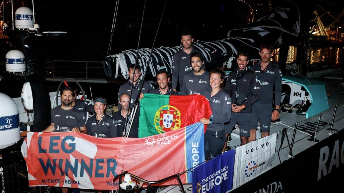 La Mirpuri Foundation Racing Team s'est imposé sur le fil à Gênes lors de la troisième étape.