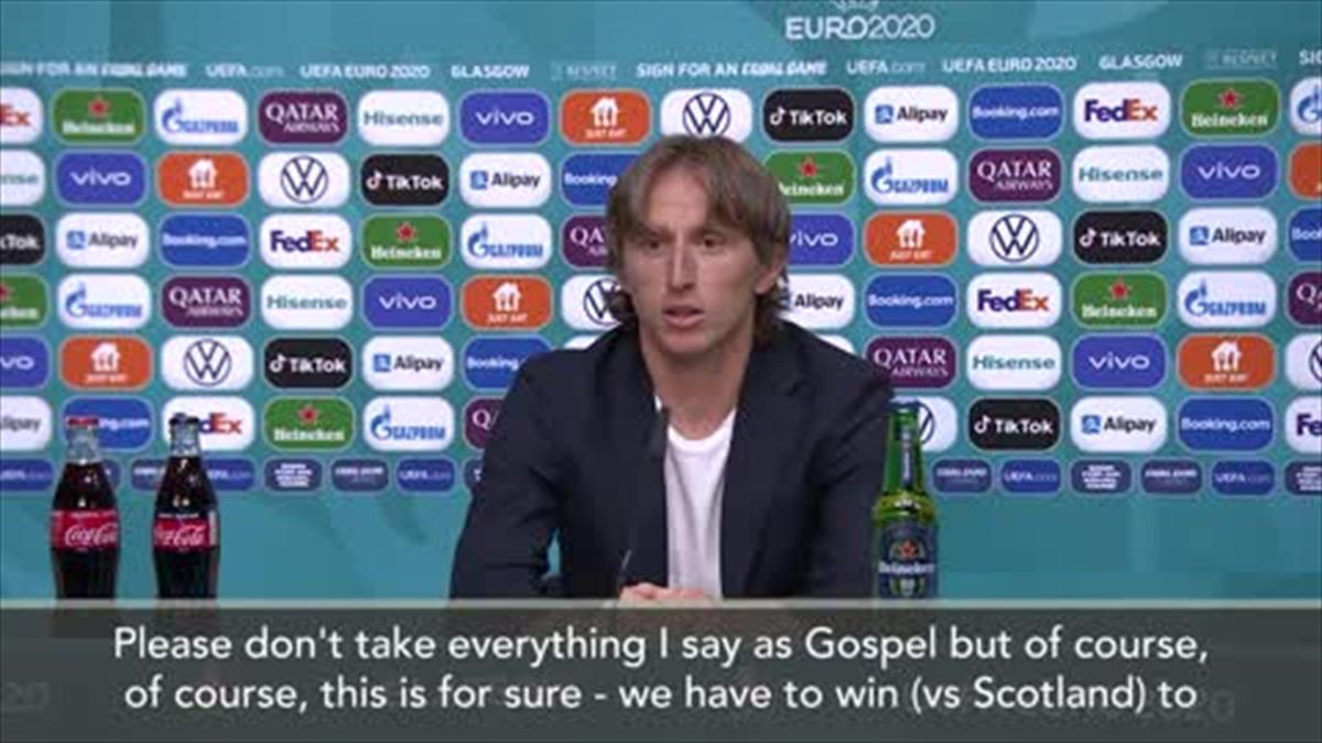 'We need to change a chip in our head' - Modric says Croatia players have to change