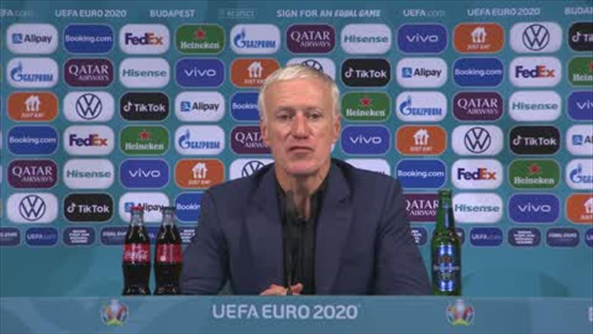 Deschamps: Hungary had a 'formidable advantage' against France
