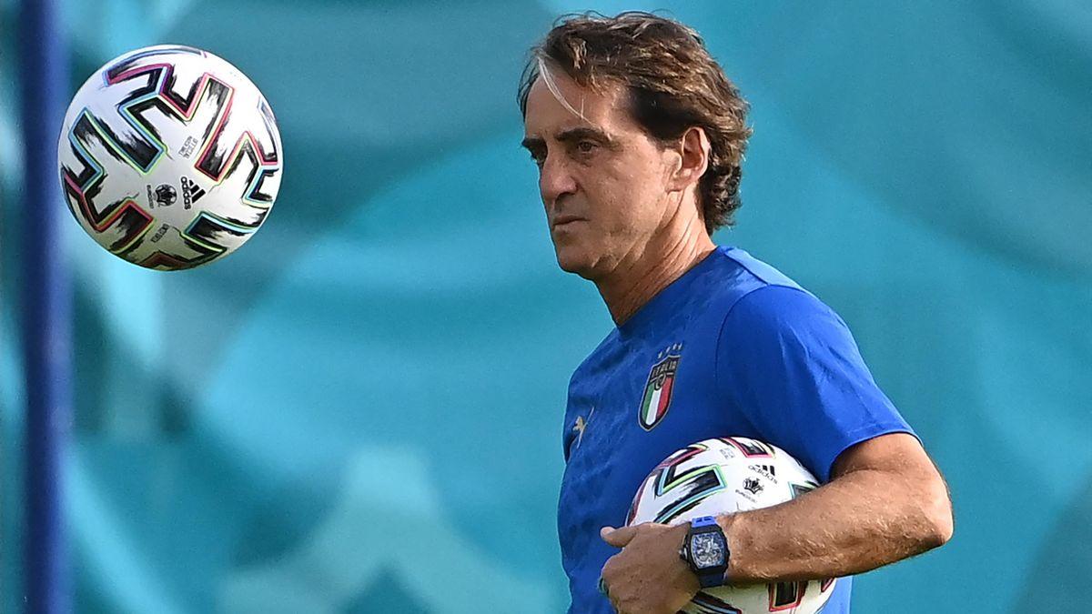 Roberto Mancini nimmt Änderungen gegen Wales vor
